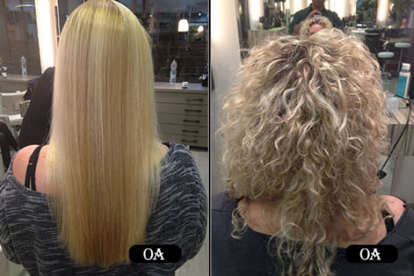 Blond Japanies Straightening 1