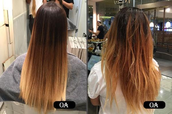 החלקה יפנית לשיער מובהר